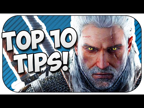 10 tricks and tips for The Witcher 3