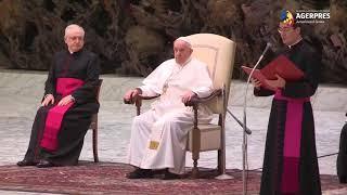 Papa Francisc i-a criticat pe cei care merg la slujbă pentru ''a fi văzuţi''