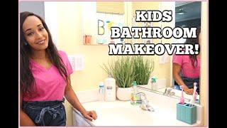 KIDS BATHROOM MAKEOVER! | Kym Yvonne