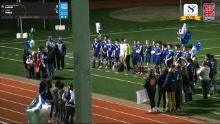 Turks Vs Cedar Park Chr. Varsity Soccer Senior Night