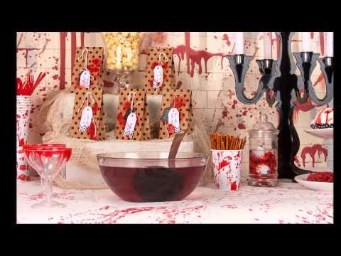 Bloederige Halloween cocktail voor crime scene party
