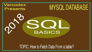 how to fetch data from table of mysql database using sql | Xampp | Tutorial 04