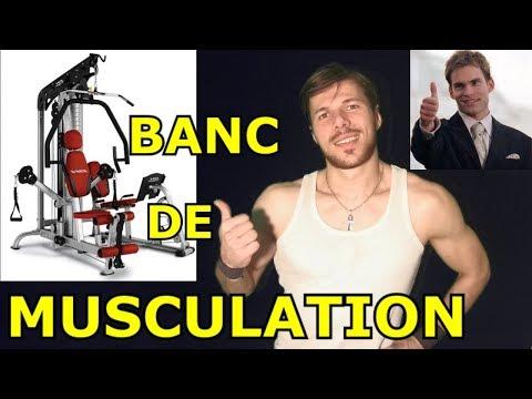 LE BANC DE MUSCULATION : LA MEILLEURE MACHINE POUR SE MUSCLER ?