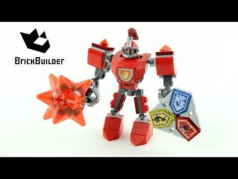 Vidéo LEGO Nexo Knights 70363 : La super armure de Macy