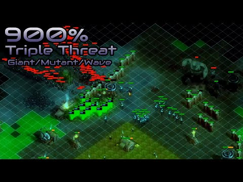They are Billions - 900% No pause - Triple Threat - Giant/Mutant/Wave - Caustic Lands