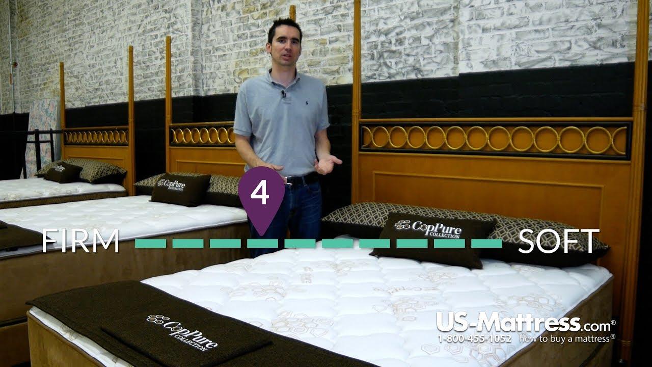 Twin Grand Rapids Bedding Coppure X1 Mattress