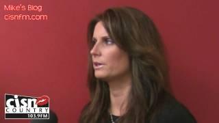 Mike McGuire with Terri Clark 2009 Interview