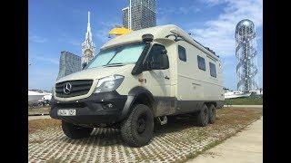Автодом для кругосветных путешествий. 6x6 полный привод. Mercedes 3C-Cartier X-Track