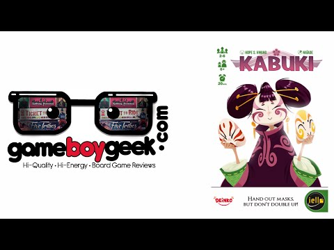 The Game Boy Geek Reviews Kabuki