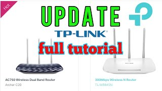 firmware update tp link router - TH-Clip