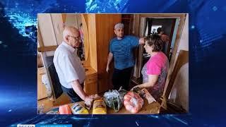Губернатор встретился с жителями пострадавшего от воды села в Шарлыкском районе