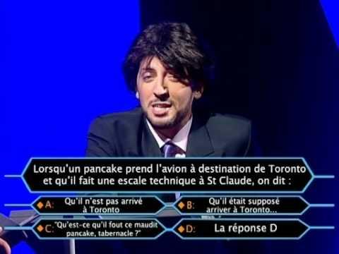 Vidéos - Gad Elmaleh et Olivier Baroux - Qui Veut Gagner De L'Argent En Masse