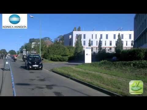 Le Marathon Vert Rennes - Passage des premiers marathoniens à Cesson Sevigné