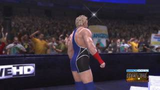 WWE '12 Jack Swagger Updated Entrance [Video]