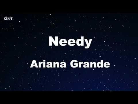 needy - Ariana Grande Karaoke 【No Guide Melody】 Instrumental