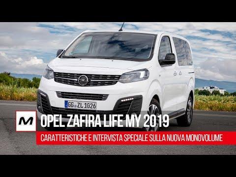 Opel Zafira Life MY 2019 | Caratteristiche e intervista speciale sulla nuova monovolume