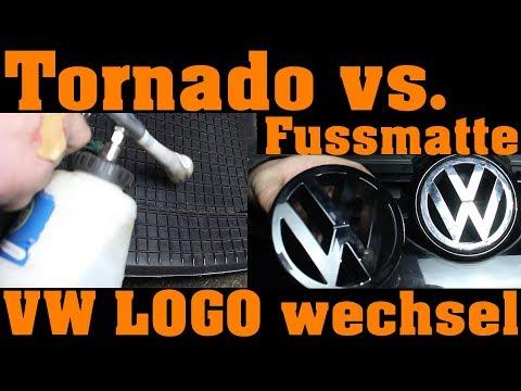 Fussmatten reinigung und VW Emblem wechsel 🔧