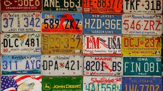Why US License Plates Look Ugly