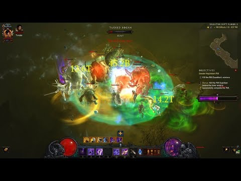 Diablo 3 | GR141 Solo Wizard | Rank 1 WORLD ( Vyr Chantodo