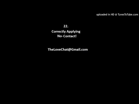 22. Correctly Applying No-Contact!