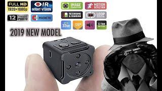 Newest 2019 MellowCase HD Mini Spy Hidden Camera Night Vision (WHY YOU SHOULD BUY ONE!)