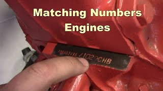 """""""By The Numbers""""  Matching Numbers Engines"""