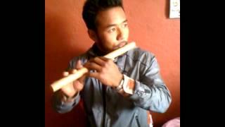 preview picture of video 'Игра на бансури, Непал.'