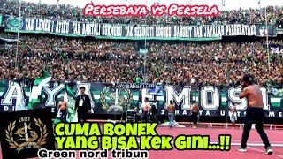 Hanya Disini..!!Tradisi Chant Antar Tribun Bonek Green Nord-Kidul-Timur-VIP | Persebaya Vs Persela