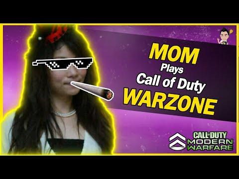 現代戰域老媽加入戰局,嗨翻全場(決勝時刻 COD Call of Duty WARZONE)