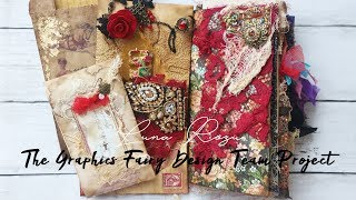 Fortune Teller Junk Journal By Luna Rozu For Graphics Fairy