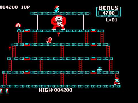 Donkey Kong for the PC Booter