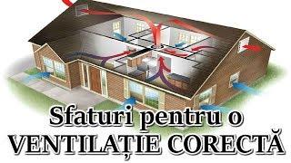 Sfaturi pentru o ventilatie corecta intr-o casa sau apartament
