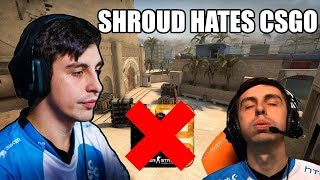 C9 Shroud Explains Why He Hates Playing CS:GO, Insane Dreamhack Malmo Moments, AND MORE!