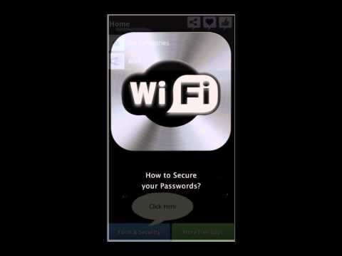 Video of WiFi+ Password Manager