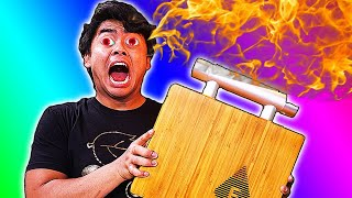 I Tried Cooking Food using a $500 Speaker!