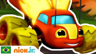 Blaze and the Monster Machines | Sparky, Sparky! ???? | Nick Jr.