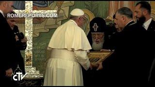Encuentro con Su Santidad y Beatitud Elías II, Catholicós y Patriarca de toda Georgia en el Palacio del Patriarcado