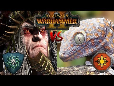 Vampire Coast vs Lizardmen | THE LIZARD HORDE - Total War Warhammer 2