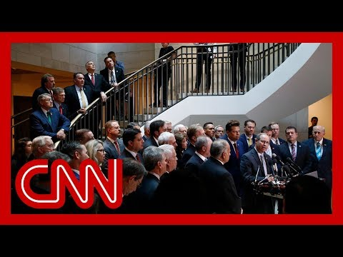 Chaos as Republicans storm impeachment inquiry deposition