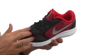 Nike Revolution 3 (GS) Boys' Running Shoe video