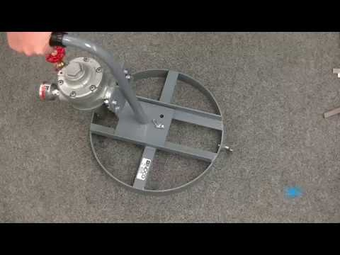 Video Thumnbnail for 5 Gallon MAM-Q 1 1/2 HP Air Powered Pail Quic Mixers