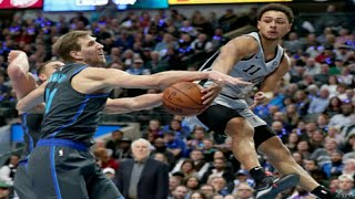 Dallas Mavericks Vs San Antonio Spurs Full Game Highlights |1/16/2019