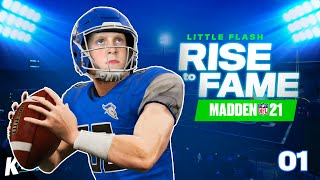 Little Flash: Rise to Fame in Madden NFL 21!!! (Part 1) | K-City Gaming