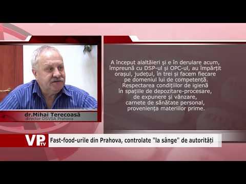"""Fast-food-urile din Prahova, controlate """"la sânge"""" de autorități"""