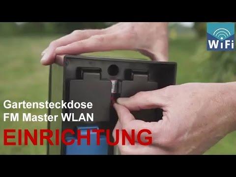 Gartensteckdose Oase Inscenio FM Master WLAN - Installation + Einrichtung