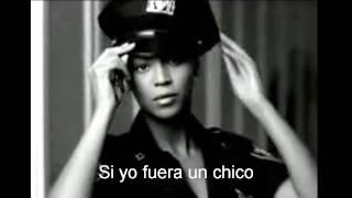 Beyoncé - Si yo fuera un chico letra
