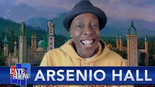 FULL INTERVIEW - Arsenio Hall And Stephen Colbert Meet For The First Time thumbnail