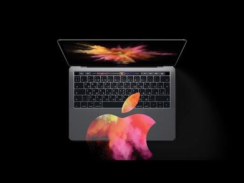 Презентация нового MacBook Pro за 8 минут
