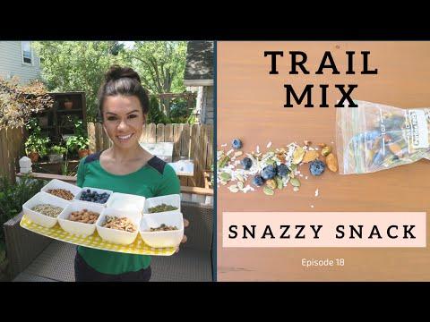 Snazzy Snack: Trail Mix
