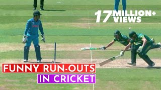 Top 10 Funniest Run-Outs in Cricket History | Cricket 18